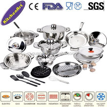 29pcs stainless steel China housewares