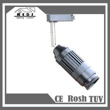 2017 New Design High Quality Cob 15w 20w 30W focus zoom angle dimmable museum clothing shop Led Track Light