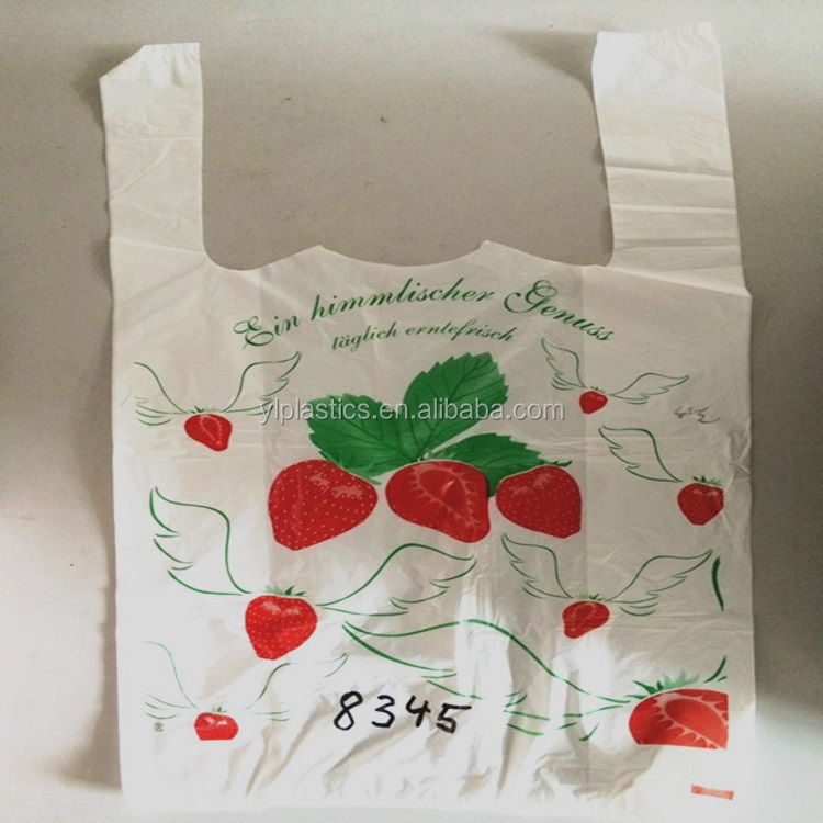 food freshness protection package/plastic t shirt bag