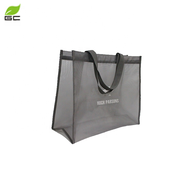 2017 New Style China Nylon Mesh Shopping Tote Bag Making Machine For Cheap Price