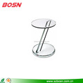 small acrylic round lucite coffee table