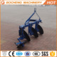 High efficency Agricultural implements 3 bottom disc plough price for tractor