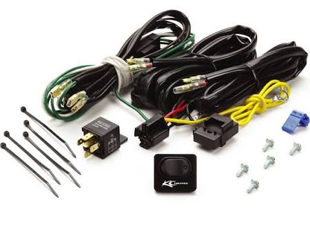 KC HiLites - 6315 - Wire Harness w/Relay - Truck Styling