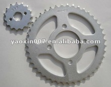 420 Big and Small Motorcycle sprocket