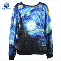2015-2016 newest 3D printing custom sweatshirt men sweatshirt/women fashion sweater