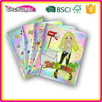 Top Selling beauty paper fashion handmade paper file folder