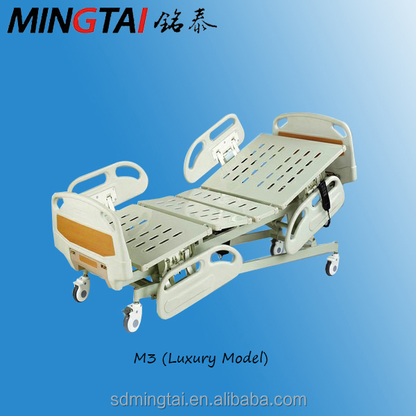 Hospital Furniture, 3 functions electric hosptal bed M3