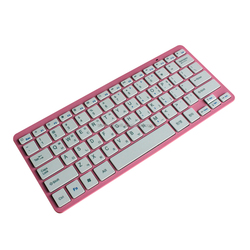 Popular bluetooth 3.0 Ultra-slim Cheap Computer Keyboards Wireless Keyboard, Laptop Mini External Keyboards