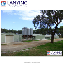 light steel structure chicken house construction building/poultry farming equipment chicken shed with free design