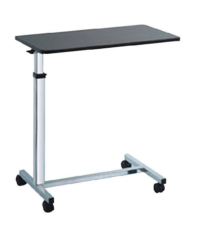 EMS-OT101 Chrome adjustable over bed table
