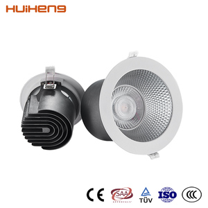Low Voltage Conversion Cool White LED Hotel Antiglare Downlight Housing Kit