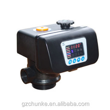 electric / manual runxin softener water softener valve for water treatment plant