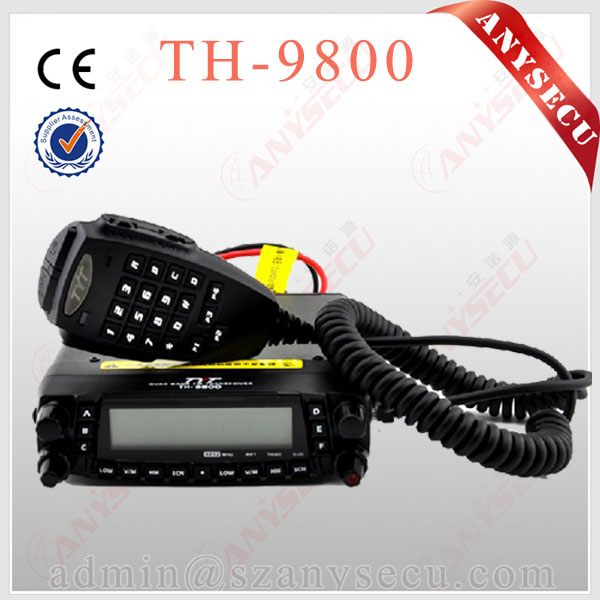 TYT Quad Band Transceiver 10M/6M/2M/70cm VHF/UHF TH-9800 Two Way and Amateur Radio with frequency scrambler
