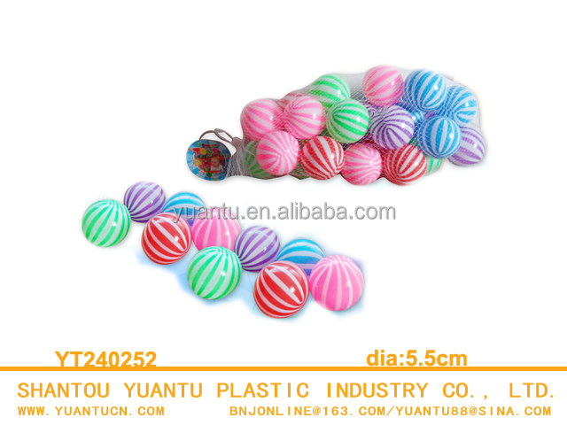 Colourful Ocean Balls Plastic Kids Toy For Swim or Bathe