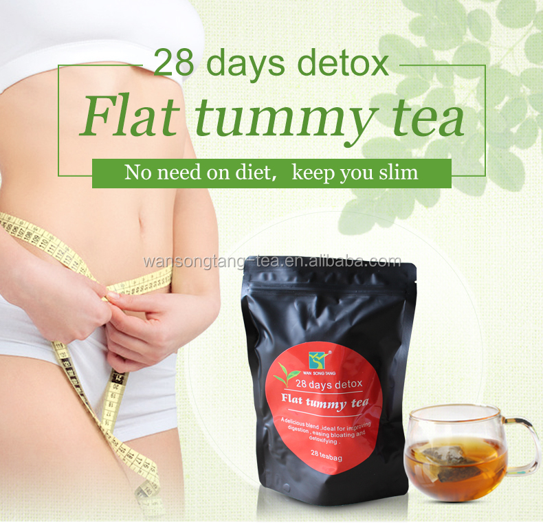 organic flat tummy <strong>tea</strong> slimming <strong>tea</strong> reduce fat <strong>tea</strong> remove obesity with 28 days detox
