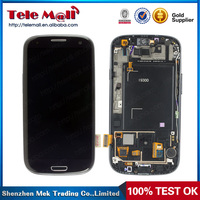 Mobile phone displays for s3 i9300 Lcd assembly for samsung s3