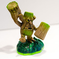 wood titan monster image resin toy