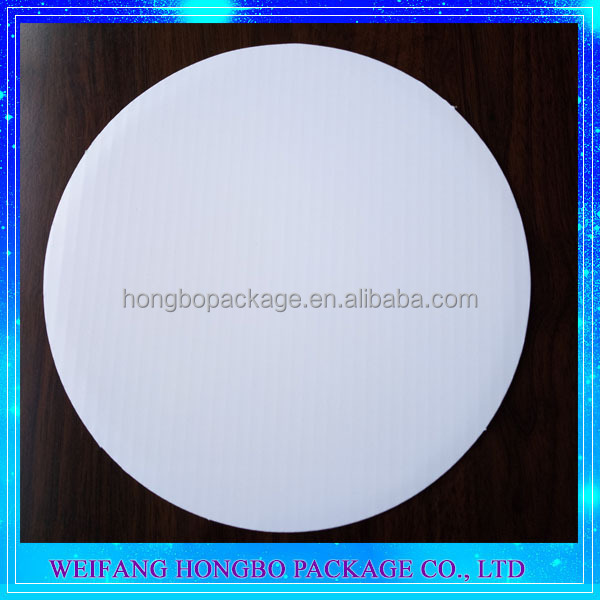 White Grease Proof Paper Cake Circles For Cake Base Board