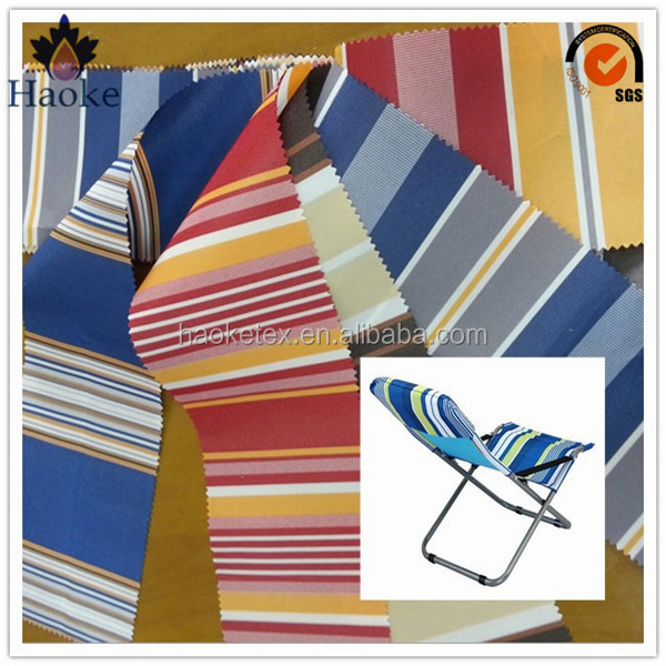beach chair fabric / outdoor furniture fabric / striped fabric for sunbed