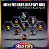/product-detail/plastic-acrylic-transparent-toys-building-blocks-mini-figures-diamond-bricks-hexagonal-display-case-6-colors-base-plates-de00021-60377636162.html