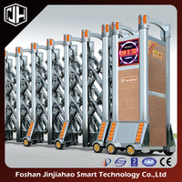 jinjiahao auto stainless steel folding / retractable gate - hot sell model