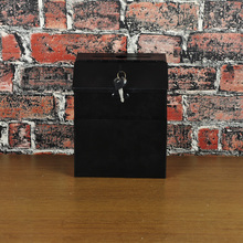promotional metal storage cabinet cast iron mailbox