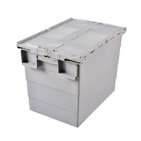 Plastic Crates Stackable Turnover Box With