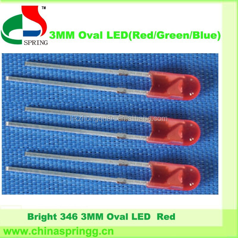 Grey market electronics 3mm rgb led chip