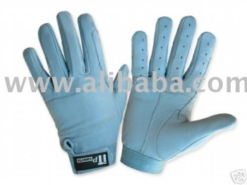 Leather Riding Gloves All SIzes Available Sky Blue