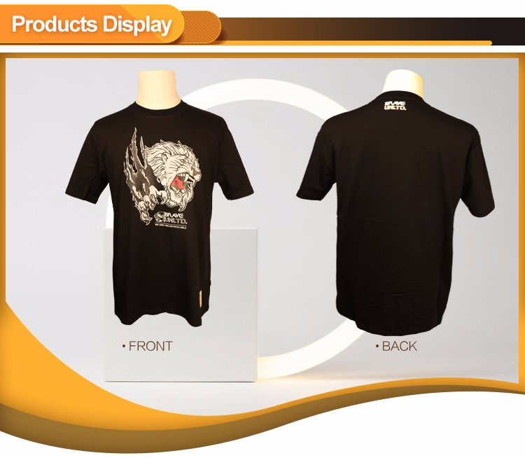 T-shirt Manufactures In Guangzhou True Rock Game t- shirt For Men