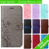 Pattern Leather Phone Case For Apple iPod Touch 5 Touch 6 Trend Plus TPU Back Cover Flip Shell Stand Wallet Bag Card Holder