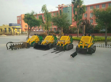 Walking Trencher, Mini Loader, Mini Forklift and Earth Auger