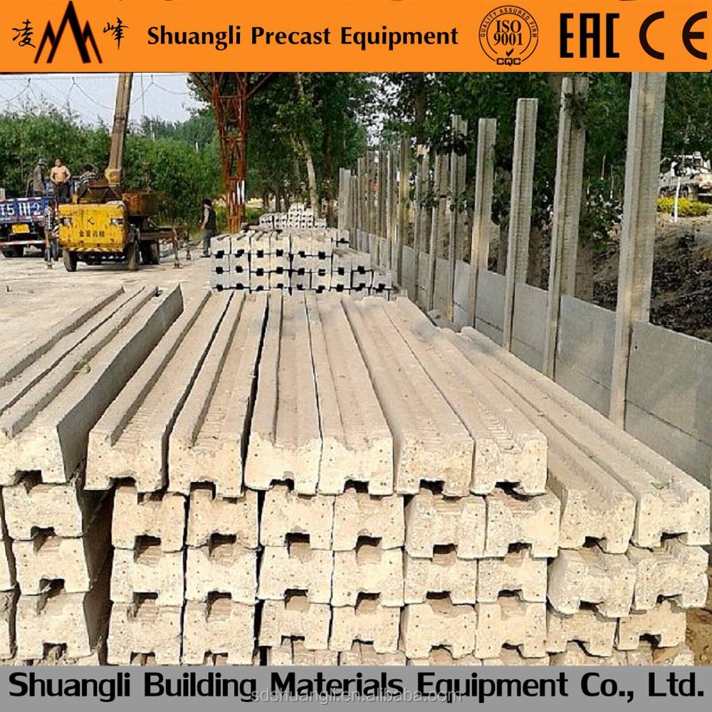 concrete fence making machine/concrete fence wall