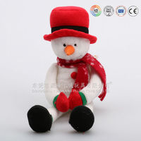 Plush dancing and singing snowman made for ICTI audited factory