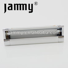 Aluminum Inset handle for cabinet hardware accessories,concave pull handle