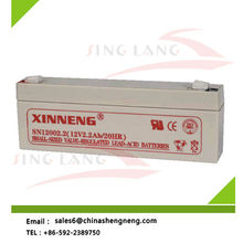High qualified sealed lead acid battery 12V 2.2Ah