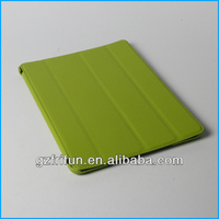 Green pu thin laptop sleeves for ipad made in china
