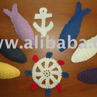 Knitted Fish Anchor Amp Rudder