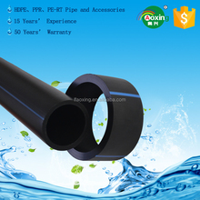 Water supply PE100 hdpe pn16 50mm pipe