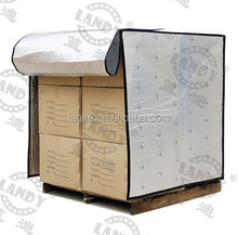 Reflective thermal aluminum foil insulation pallet cover