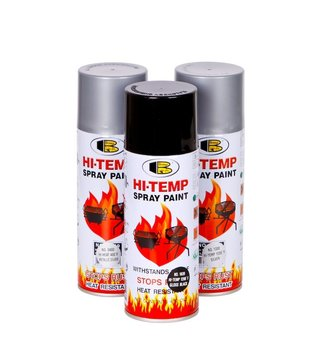 Bonsy HI-TEMP RESISTANT (1200F) SPRAY PAINT