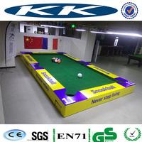 good quality wooden snookball table/Football billiards for outside sport