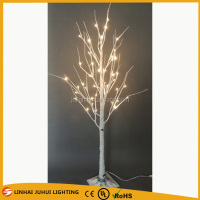 2015 hot sale artificial led birch tree light 96L/1.6M, white birch trees for sale