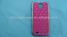 chrome lambskin leather case for Samsung Galaxy S3 SIII i9300