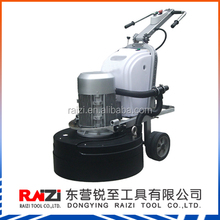 planetary concrete floor grinder with concrete polishing pad