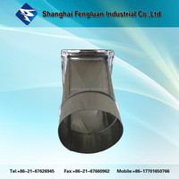 Galvanized steel material duct round types of duct connection