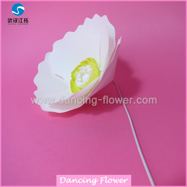 Decoration home 3d wallpaper Artificial Paper Poppy Flower (SFAG-02)