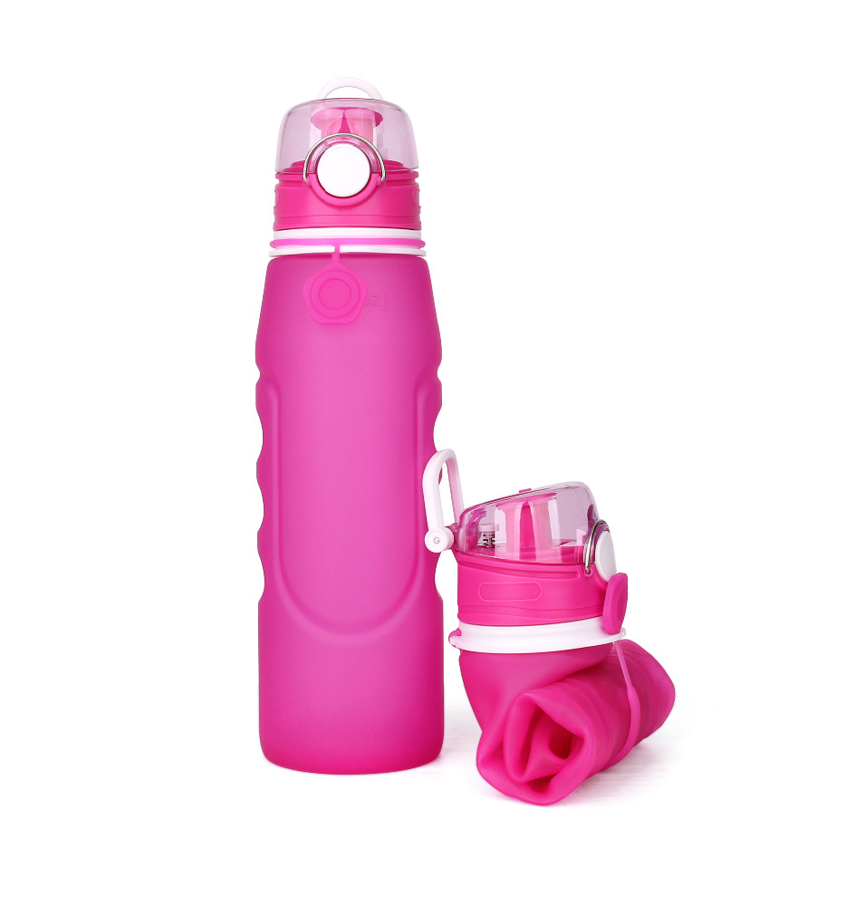 brand new amazon silicone water bottle foldable cheap sports liquid silicone bottles for sale
