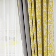 Good sales simple polyester security curtains for windows