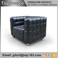 Living Room Furniture Simple Design Modern Leather Sectional Sofa